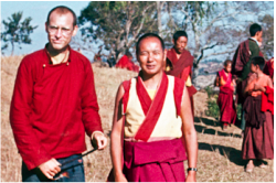 Jon Landaw and Lama Yeshe, 1975