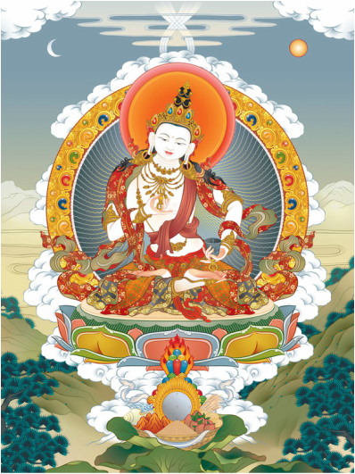 Vajrasattva by Ernest Fung