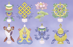 Eight Auspicious Signs by Bob Jacobson